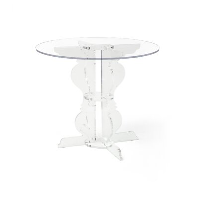 Marley Dining Table Finish: Clear