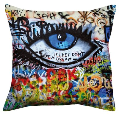 Delron Art Eye Throw Pillow