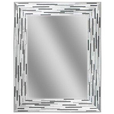 Reeded Tiles Accent Wall Mirror LATT8761 38851034