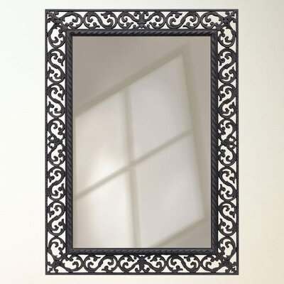 Rectangle Rustic Accent Wall Mirror