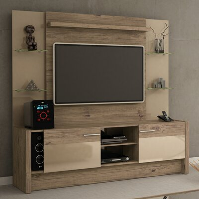 Kathi Entertainment Center Color: Nature / Nude