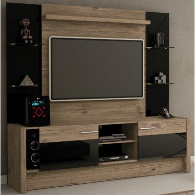 Kathi Entertainment Center Color: Nature / Black
