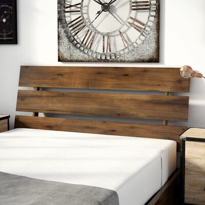 Michaela Slat Headboard Size: Full