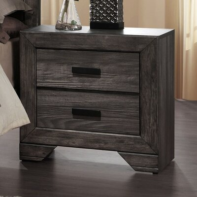 Raven 2 Drawer Nightstand