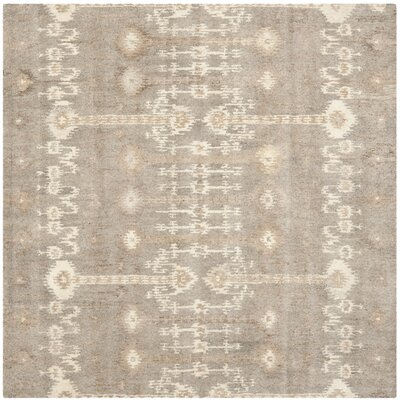 Roberts Brown Area Rug Rug Size: Square 7