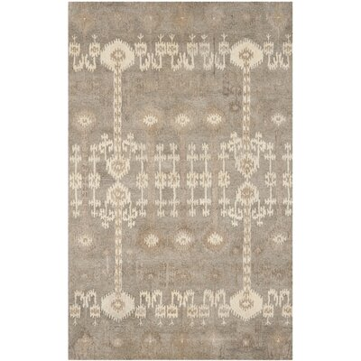 Roberts Hand-Tufted Brown Area Rug Rug Size: Rectangle 5 x 8