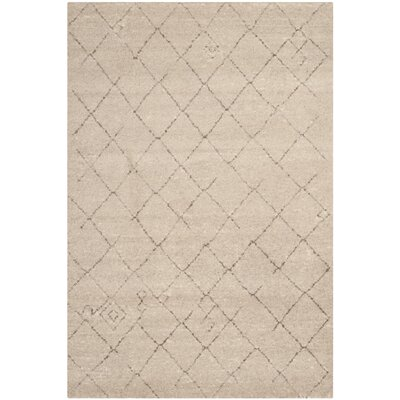 Bennett Tan Rug Rug Size: Rectangle 51 x 76