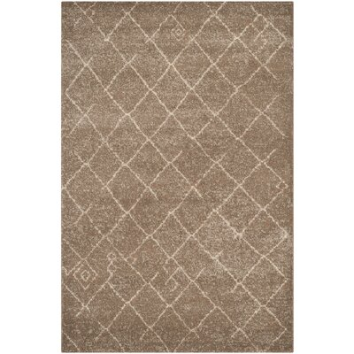 Bennett Brown Area Rug Rug Size: Rectangle 4 x 6