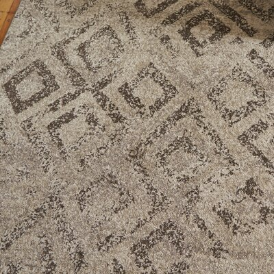 Bennett Ivory/Taupe Area Rug Rug Size: Square 6