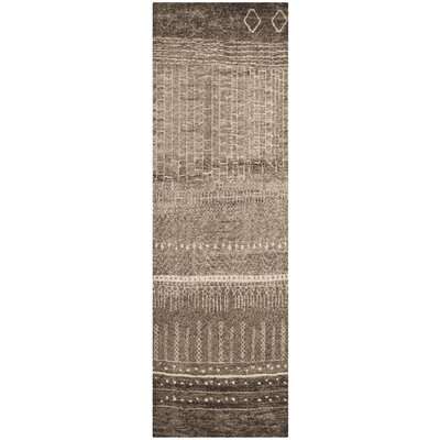 Ximena Brown Area Rug Rug Size: Runner 26 x 10