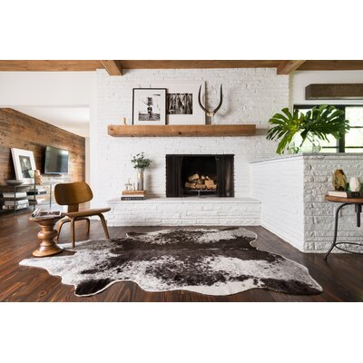 Summer Gray Area Rug Rug Size: Rectangle 5 x 66