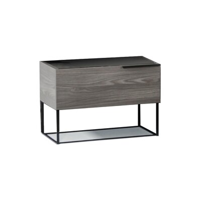 Daughtery Modern 1 Drawer Nightstand