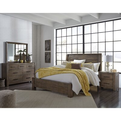 Fiorella Panel Bed Size: King