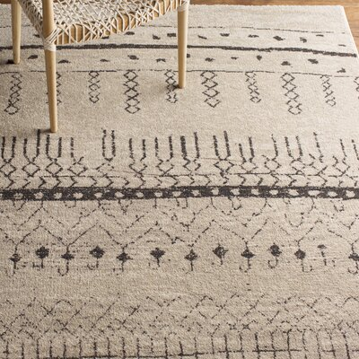 Ximena Beige Area Rug Rug Size: Rectangle 4 x 6