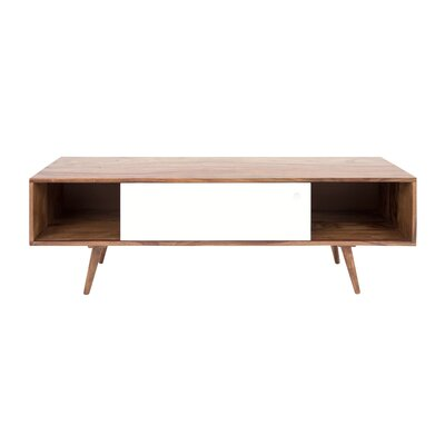 Nolan 55 TV Stand Color: Natural/White