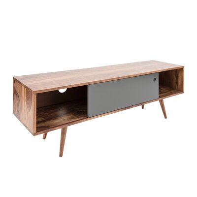 Nolan 55 TV Stand Color: Natural/Gray