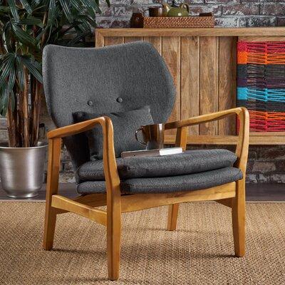 Droz Armchair Upholstery : Dark Slate
