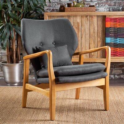 Droz Armchair Upholstery : Dark Gray