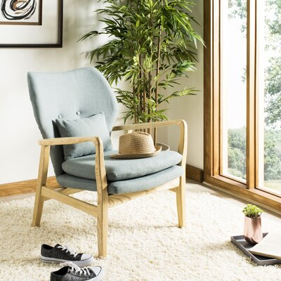 Templeton Armchair Upholstery: Blue