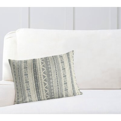 Couturier Rectangular Lumbar Pillow Color: Ivory, Size: 12 H x 16 W