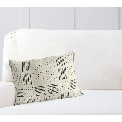 Couturier Lumbar Pillow with Zipper Color: Ivory, Size: 12 H x 16 W