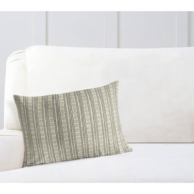 Couturier Rectangular Lumbar Pillow with Zipper Color: Ivory, Size: 18 H x 24 W