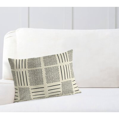 Couturier Lumbar Pillow Color: Ivory, Size: 18 H x 24 W