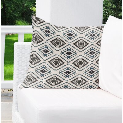 Bates Indoor/Outdoor Throw Pillow Size: 26 H x 26 W x 6 D