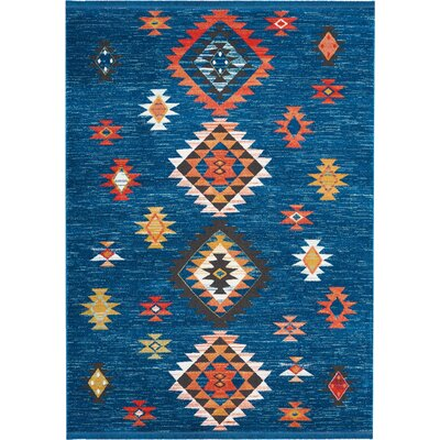 Pittsfield Blue Area Rug Rug Size: Rectangle 710 x 109