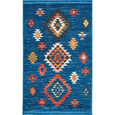 Pittsfield Blue Area Rug Rug Size: Rectangle 311 x 62