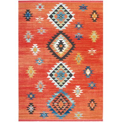Pittsfield Red Area Rug Rug Size: Rectangle 710 x 109