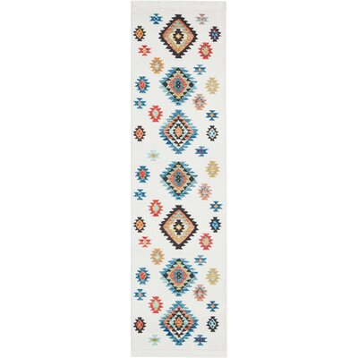 Pittsfield White Area Rug Rug Size: Rectangle 22 x 79