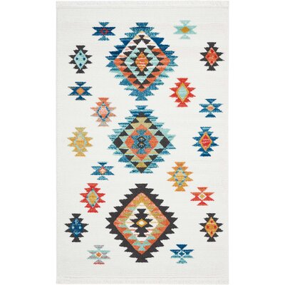 Pittsfield White Area Rug Rug Size: Rectangle 311 x 62