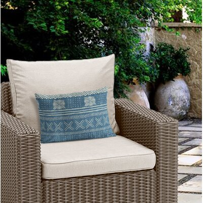 Couturier Rectangular Outdoor Lumbar Pillow Color: Teal