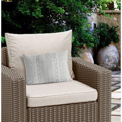 Couturier Modern Outdoor Lumbar Pillow Color: Grey