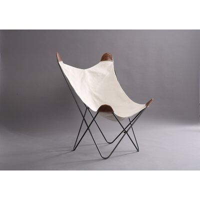 Kravitz Butterfly Lounge Chair Finish: Beige