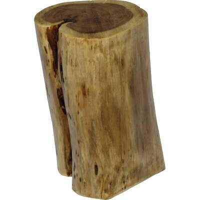 Fontanelle Hardwood Stump End Table