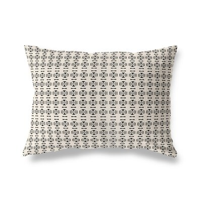 Lexington Avenue Throw Pillow Color: Black/Tan, Size: 18 x 24