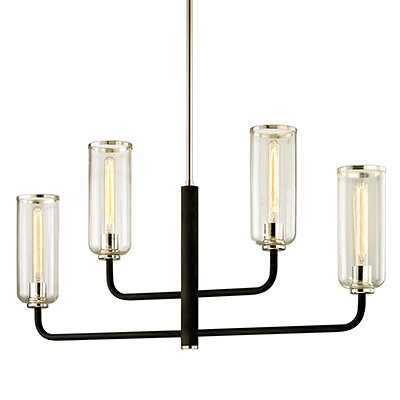 Oakwood 4-Light Candle-Style Chandelier