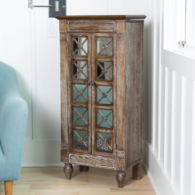Nicoletti Jewelry Armoire with Mirror