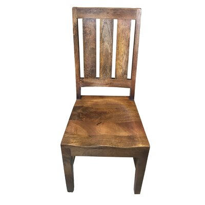 Paola Live Edge Solid Wood Dining Chair