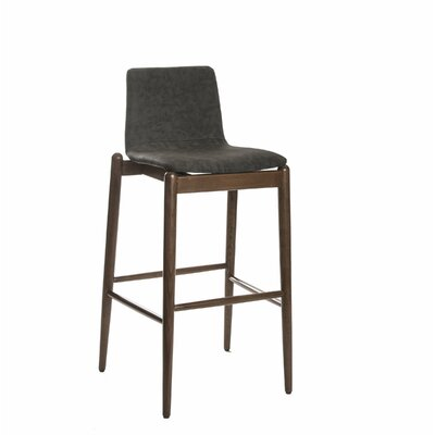 Passabe 30 Bar Stool Color: Gray
