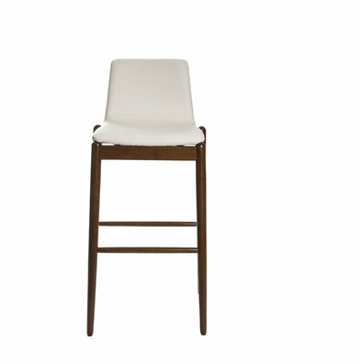 Passabe 30 Bar Stool Color: White