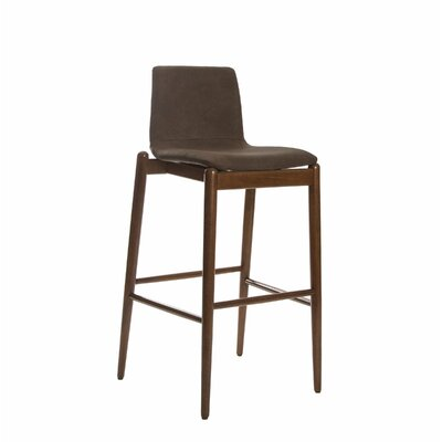 Passabe 30 Bar Stool Color: Brown
