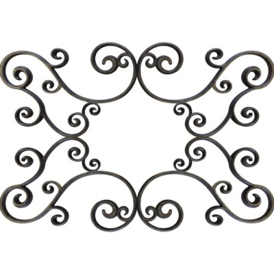 Gabriele Ceiling Medallion Size: 48 H x 60 W x 0.75 D , Finish: Antique Bronze