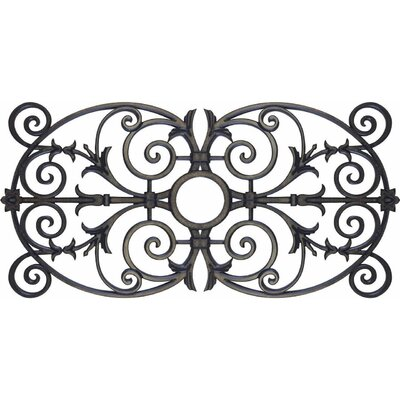 Nikos Ceiling Medallion Size: 36 H x 72 W x 0.75 D , Finish: Antique Bronze