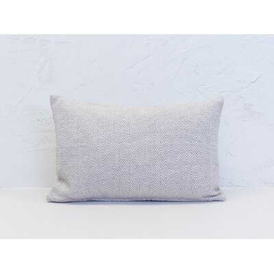 Deford 100% Cotton Lumbar Pillow Color: Dune