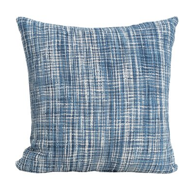 Thatcher 100% Cotton Throw Pillow Color: Indigo