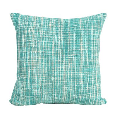 Thatcher 100% Cotton Throw Pillow Color: Lagoon