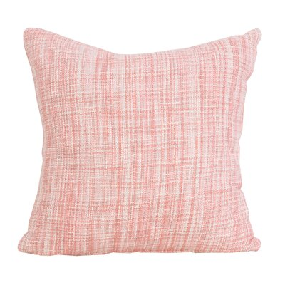 Thatcher 100% Cotton Throw Pillow Color: Azalea